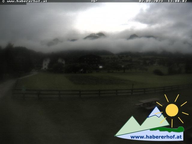 Webcam Virgen in Richtung Westen zum Habererhof