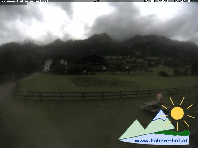 Webcam Webcam Virgen in Richtung Westen zum Habererhof ©  www.habererhof.at
