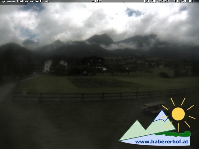Webcam Bauernhof und Gästehaus Habererhof in Virgen
